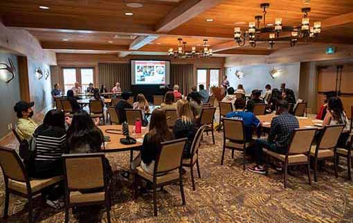 Presentation to Banff Lodging Company hospitality students
