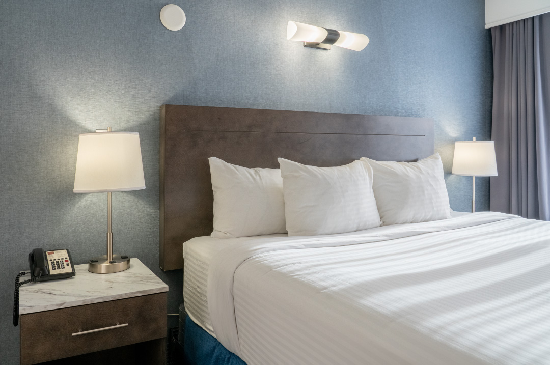 Red Carpet Hotel Room