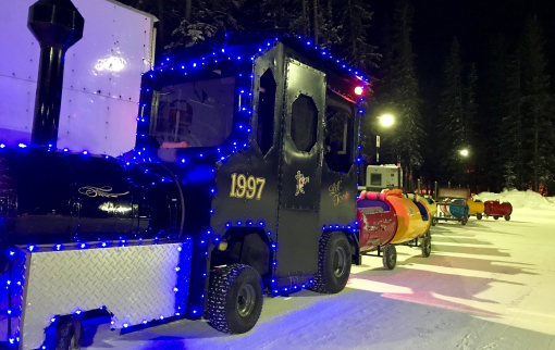 New Year in Banff