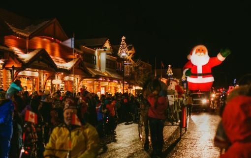 Banff Christmas Parade