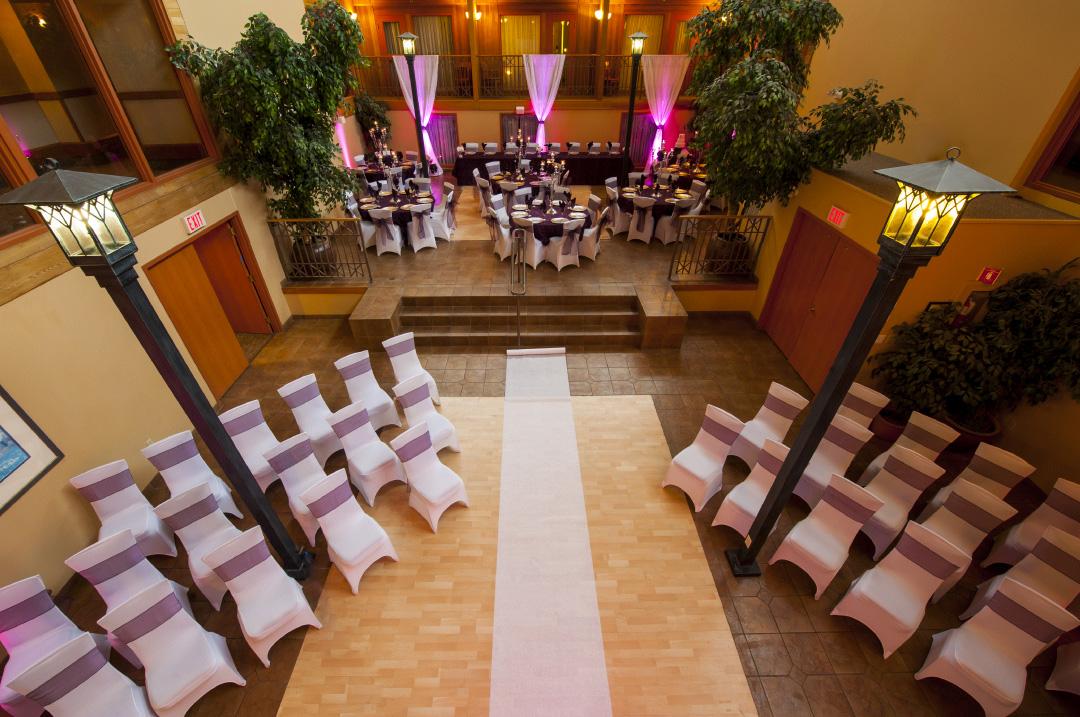 wedding Banff Ptarmgan Inn